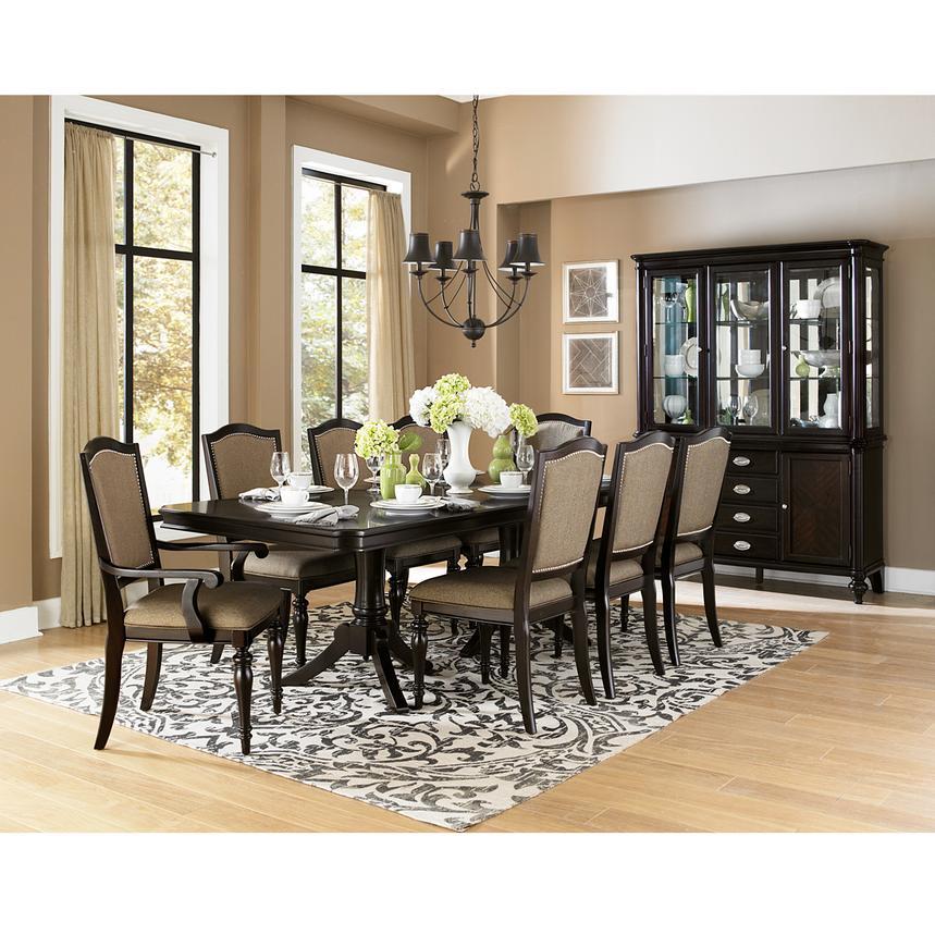 Amazing Formal Dining Room Sets For 8. Seraphina 5 Piece Formal Dining Set alternate image  2 of 11 images El Dorado Furniture