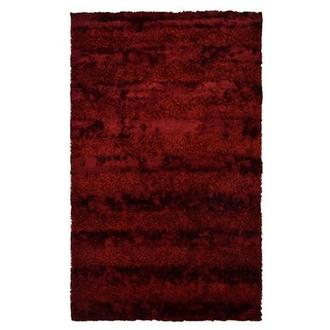 Fusion Red 5' x 8' Area Rug