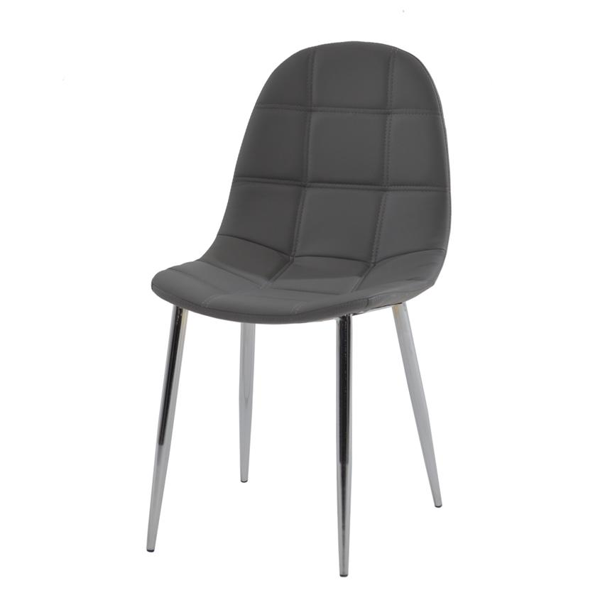 Clotus Gray Side Chair  alternate image, 2 of 5 images.