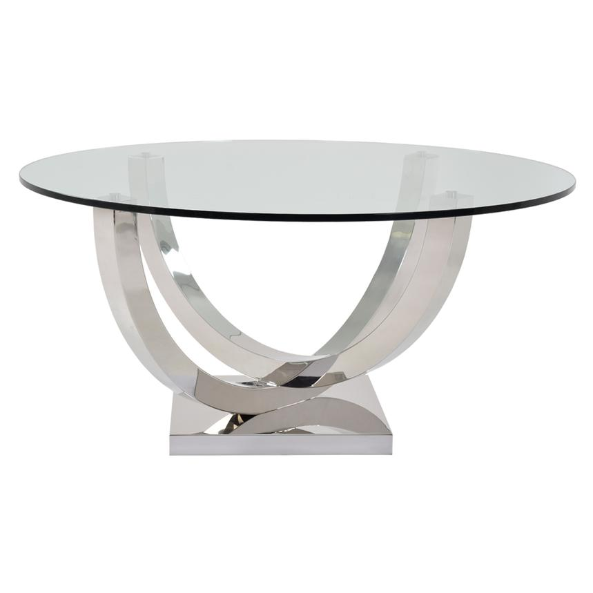 Onyx Round Dining Table  alternate image, 2 of 3 images.