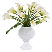 Bouquet of White Lilies Flower Arrangement  main image, 1 of 3 images.