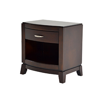 Avalon Merlot Nightstand