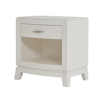 Avalon White Nightstand