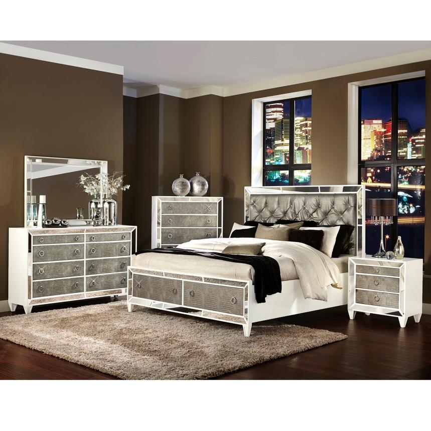 Monroe King Storage Bed El Dorado Furniture