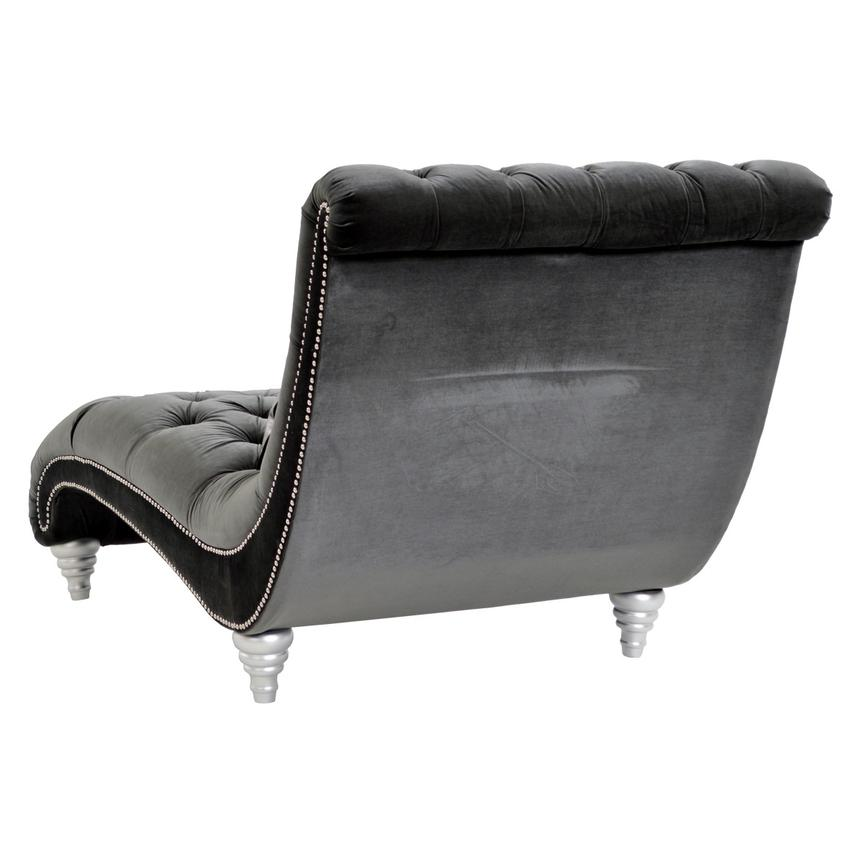 Laura Dark Gray Chaise El Dorado Furniture
