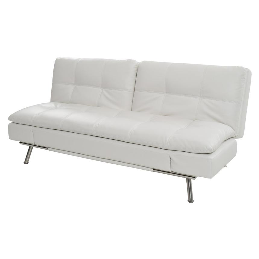 white futon sofa bed. Matrix White Futon Main Image, 1 Of 7 Images. Sofa Bed