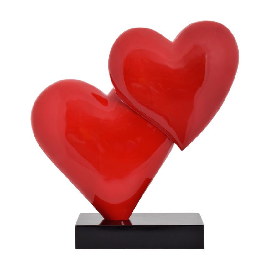 Double Heart Sculpture El Dorado Furniture