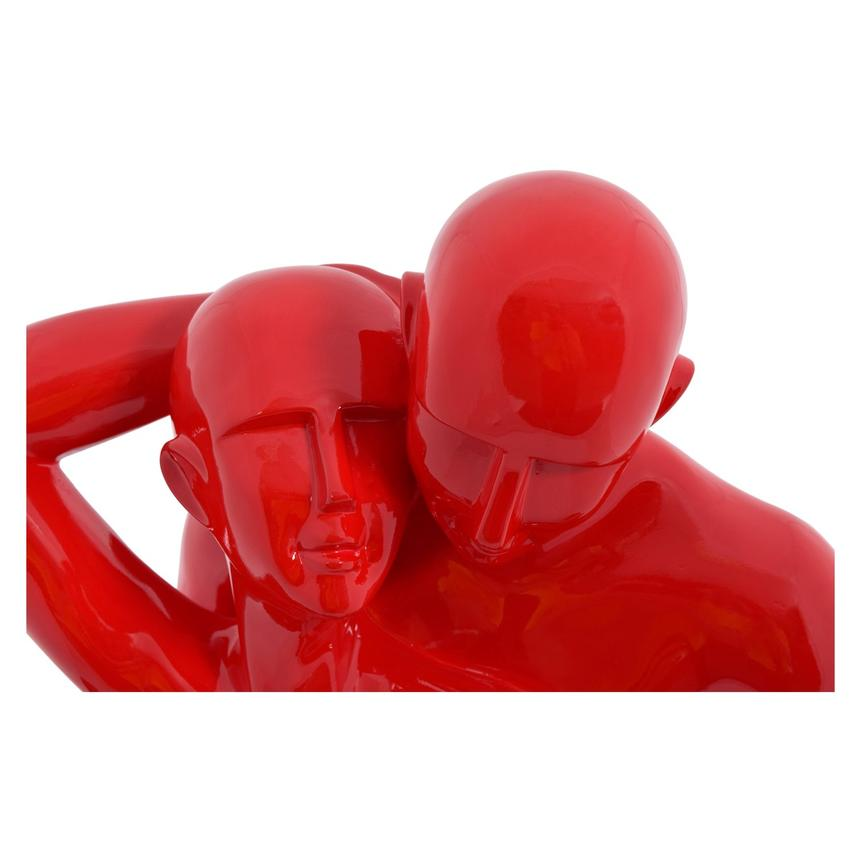 Couple in Love Red Sculpture  alternate image, 2 of 3 images.