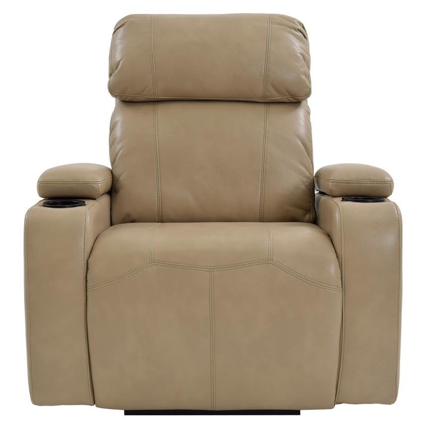 Magnetron Cream Power Motion Recliner  alternate image, 3 of 7 images.