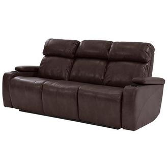 Magnetron Brown Power Motion Sofa