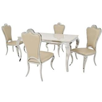 Lizbon/Mariana 5-Piece Formal Dining Set