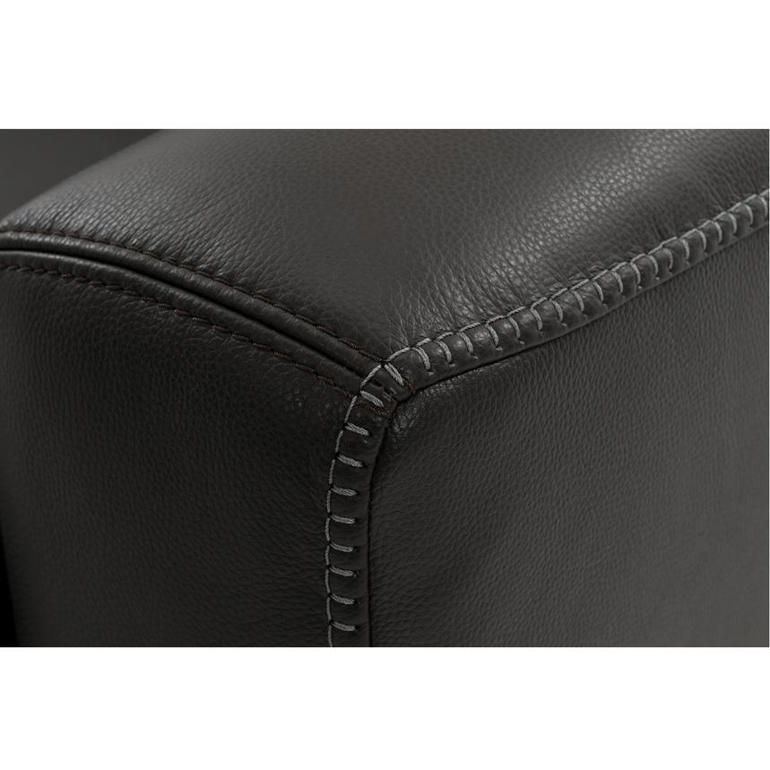 Bay Harbor Black Leather Sleeper El Dorado Furniture