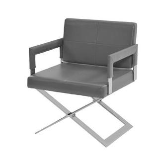 Dakota Gray Accent Chair