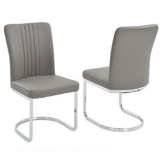 Alina Gray Side Chair