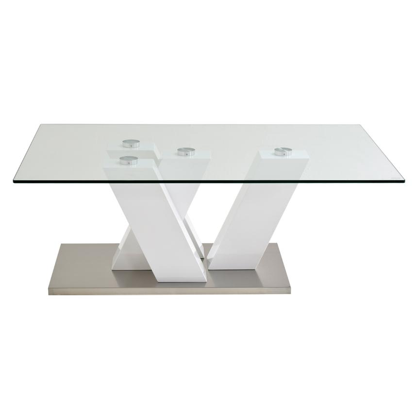 Solimar White Coffee Table  alternate image, 2 of 3 images.