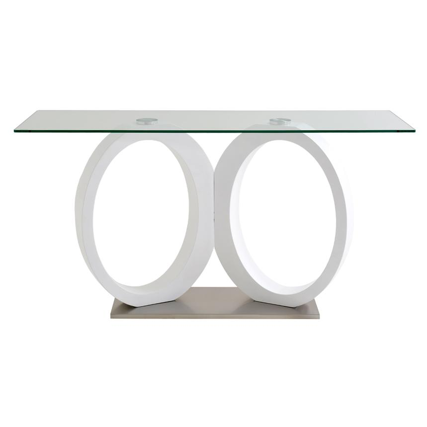 Stop 36 White Console Table Alternate Image 2 Of 4 Images