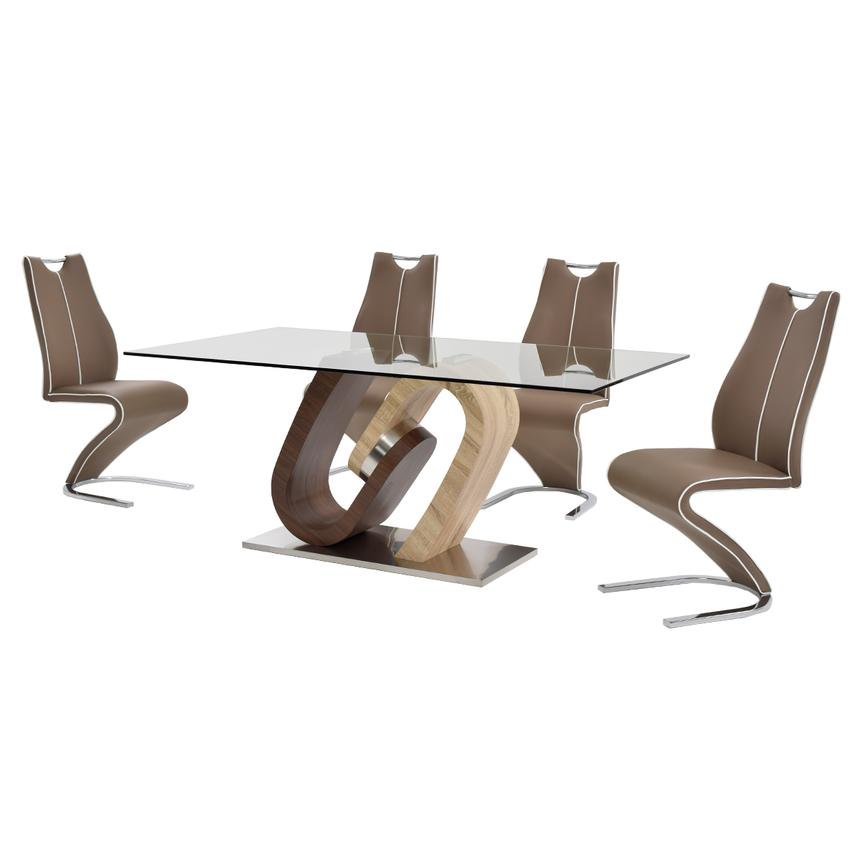 Serpentine 5-Piece Casual Dining Set  alternate image, 3 of 12 images.