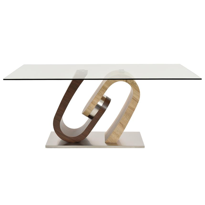 Serpentine Rectangular Dining Table  alternate image, 3 of 6 images.