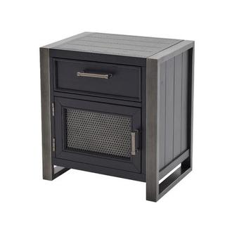 Graphite Nightstand