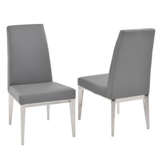 Selena Gray Side Chair