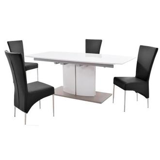 Elizabeth/T-Black 5-Piece Formal Dining Set