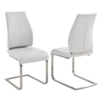 Maday White Side Chair
