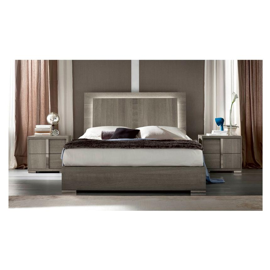 Tivo King Platform Bed Made in Italy | El Dorado Furniture