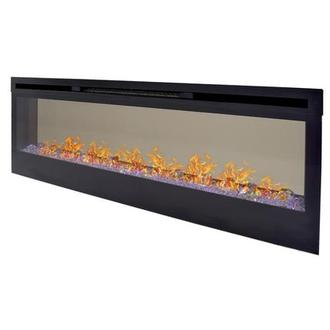 Concord Wall-Hanging Faux Fireplace w/Remote Control