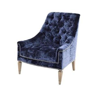 Kimberly Blue Accent Chair
