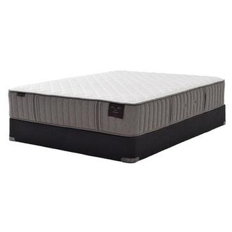 Scarborough III Queen Mattress Set w/Regular Foundation by Stearns & Foster