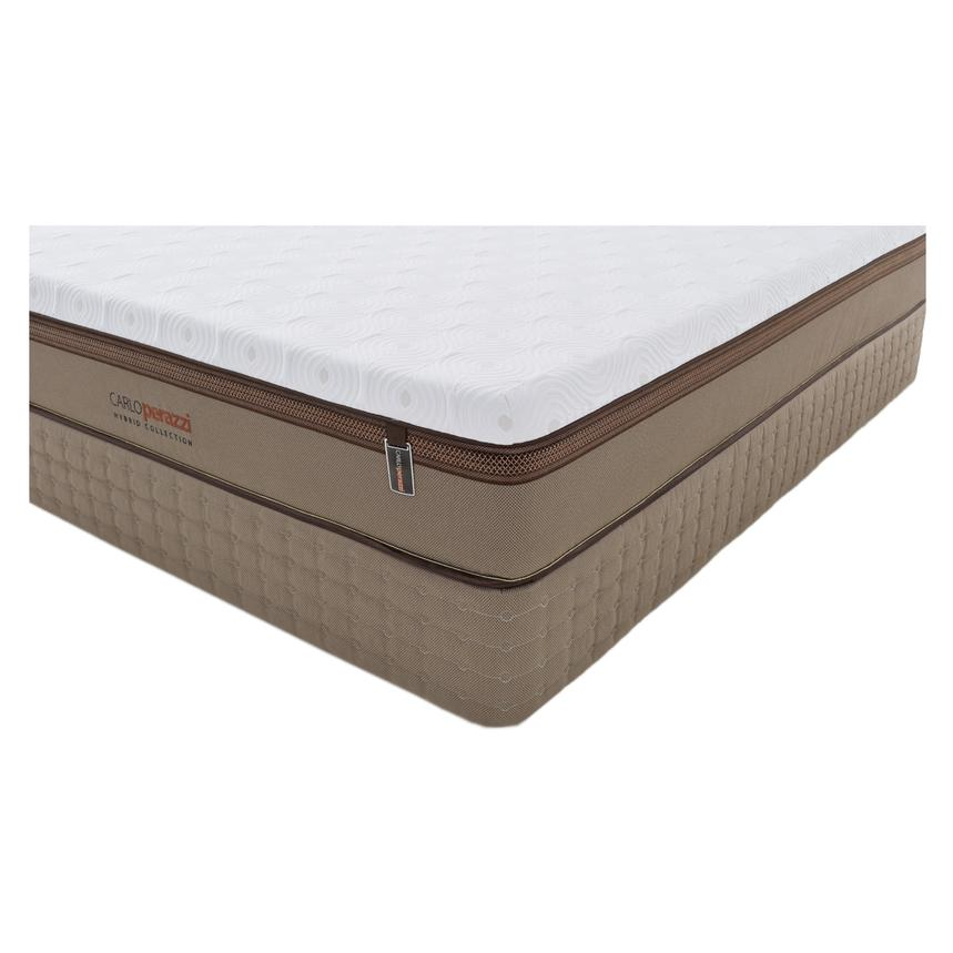 Verona Hybrid Queen Mattress Set w/Regular Foundation by Carlo Perazzi  alternate image, 2 of 5 images.