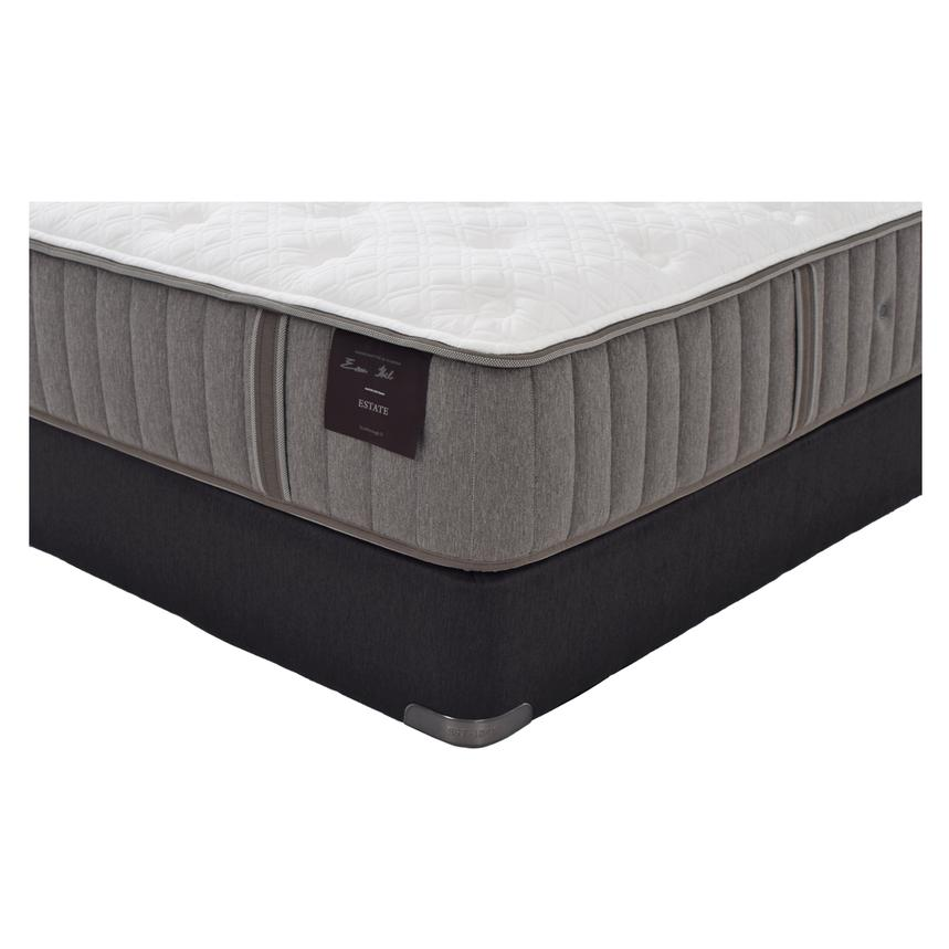 Scarborough II Full Mattress Set w/Regular Foundation by Stearns & Foster  alternate image, 2 of 5 images.