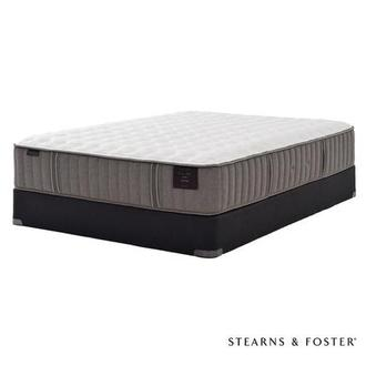 Oak Terrace II Queen Mattress Set w/Regular Foundation by Stearns & Foster