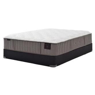 Scarborough II Queen Mattress Set w/Regular Foundation by Stearns & Foster