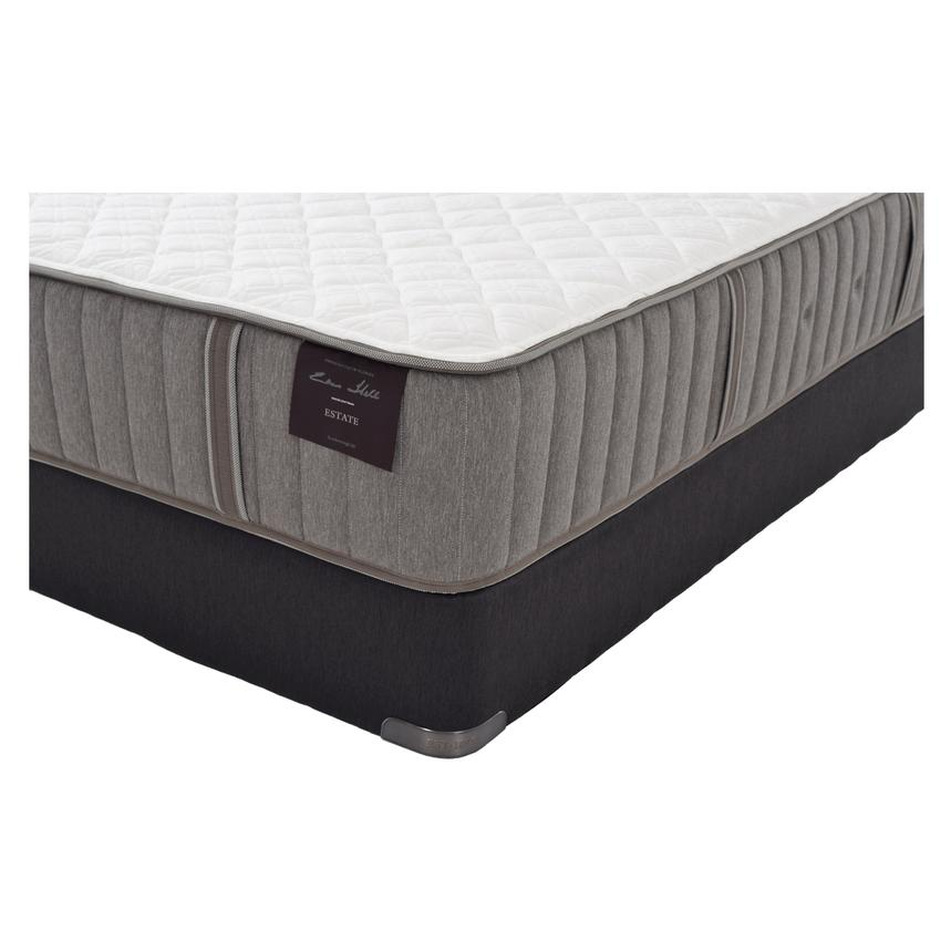 Scarborough III Full Mattress Set w/Regular Foundation by Stearns & Foster  alternate image, 2 of 5 images.