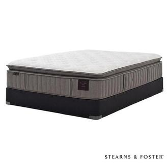 Scarborough V Full Mattress Set w/Low Foundation by Stearns & Foster