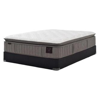 Scarborough V Queen Mattress Set w/Low Foundation by Stearns & Foster