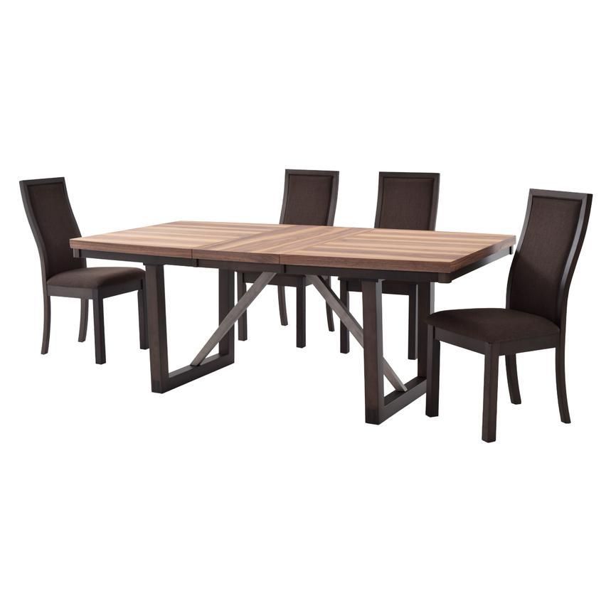 ton ton 5 piece casual dining set el dorado furniture. Black Bedroom Furniture Sets. Home Design Ideas