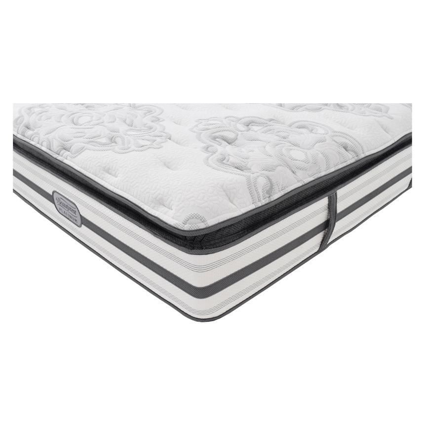 Stone Mountain Queen Mattress by Simmons Beautyrest Platinum  alternate image, 2 of 5 images.