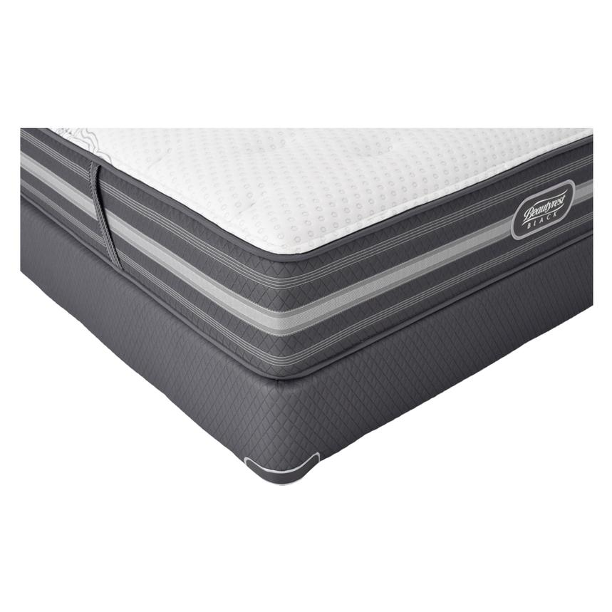 Calista Queen Mattress Set w/Regular Foundation by Simmons Beautyrest Black  alternate image, 2 of 5 images.