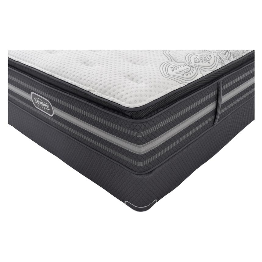 Katarina Queen Mattress Set w/Regular Foundation by Simmons Beautyrest Black  alternate image, 2 of 5 images.