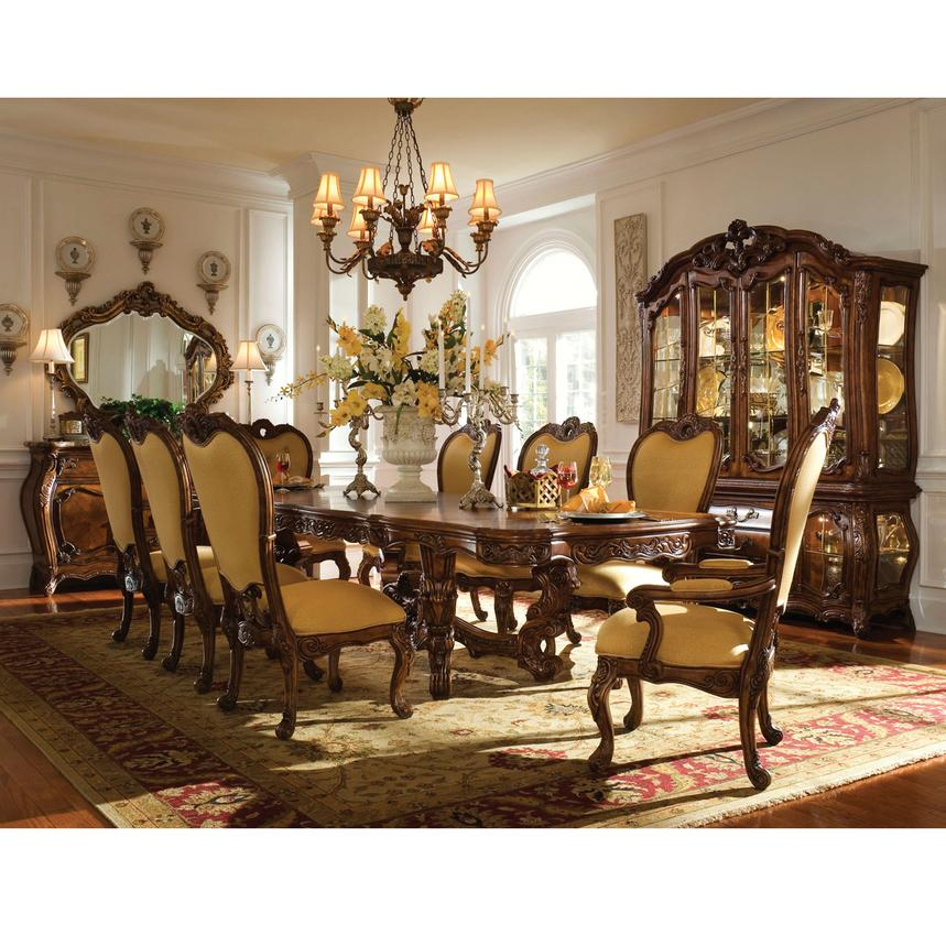 Palais Royale 5 Piece Formal Dining Set El Dorado Furniture