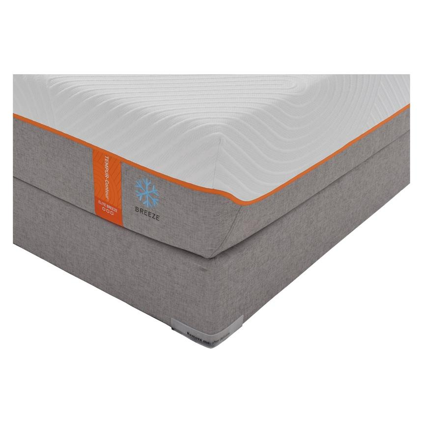 Contour Elite Breeze Memory Foam Queen Mattress Set w/Regular Foundation by Tempur-Pedic  alternate image, 2 of 5 images.