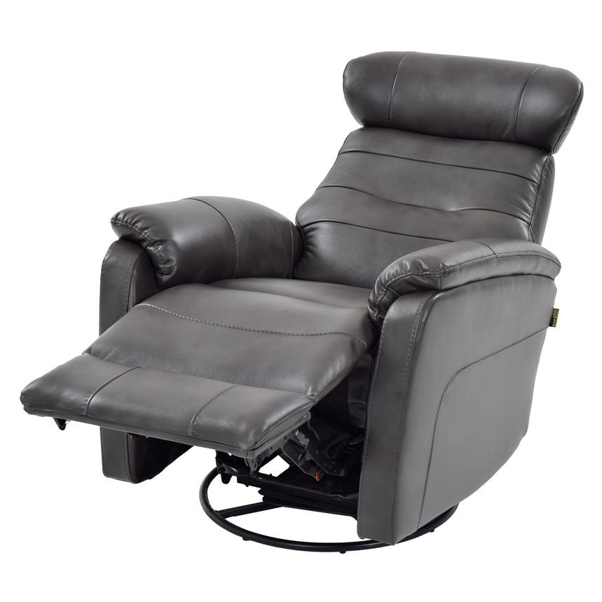 Lui Gray Power Motion Recliner Alternate Image, 2 Of 8 Images.