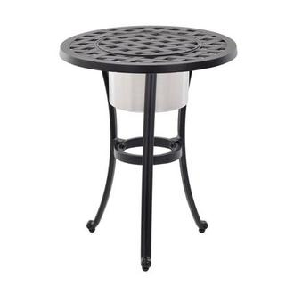 Castle Rock Side Table w/ Ice bucket