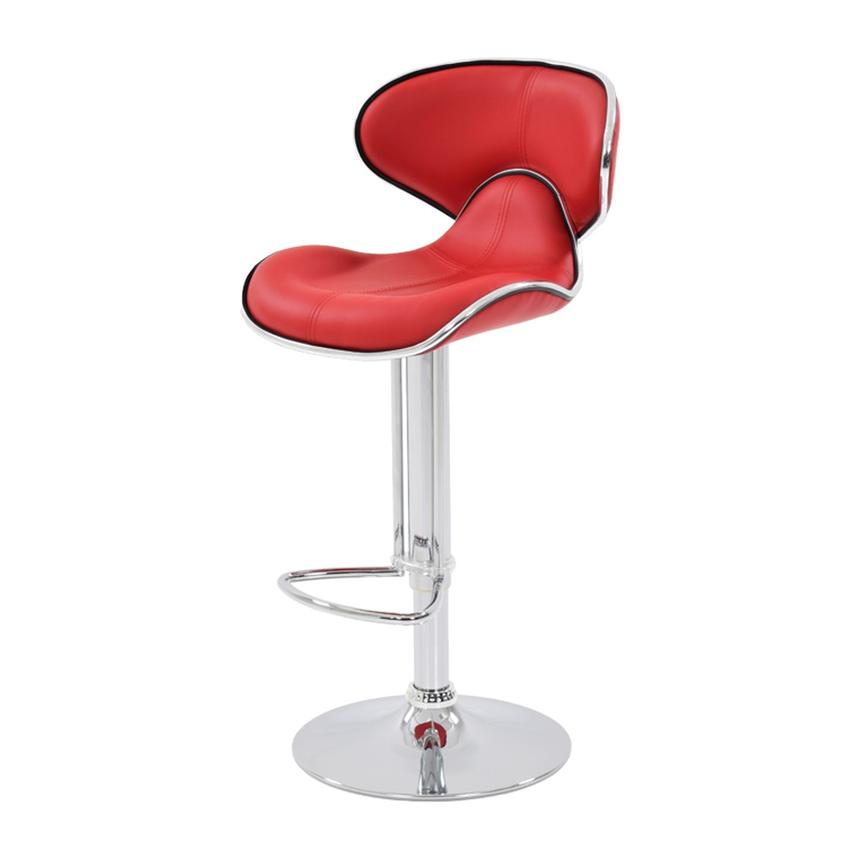 Clipper Red Adjustable Stool  alternate image, 2 of 7 images.