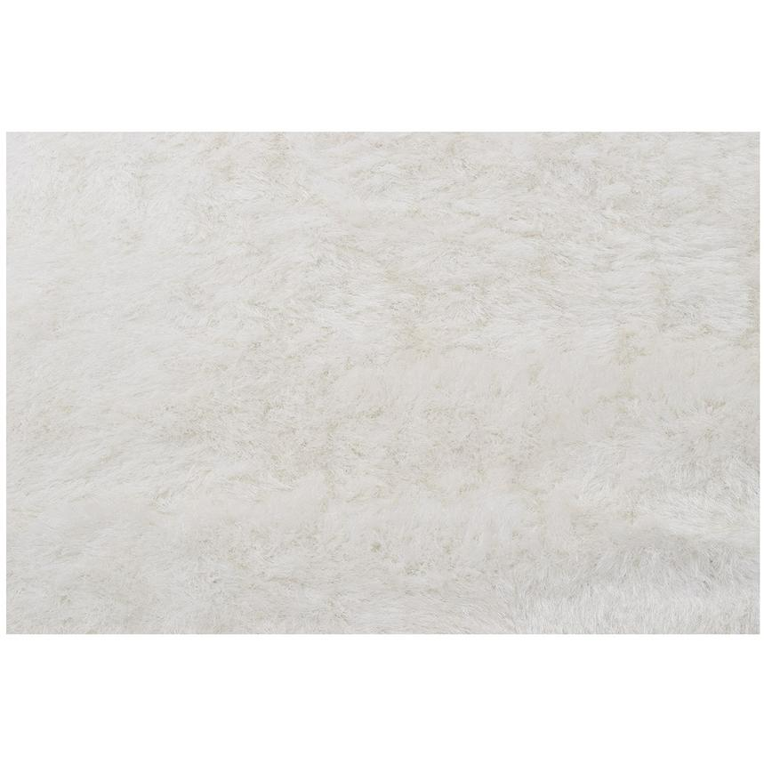 Milan White 8' x 10' Area Rug  alternate image, 2 of 4 images.