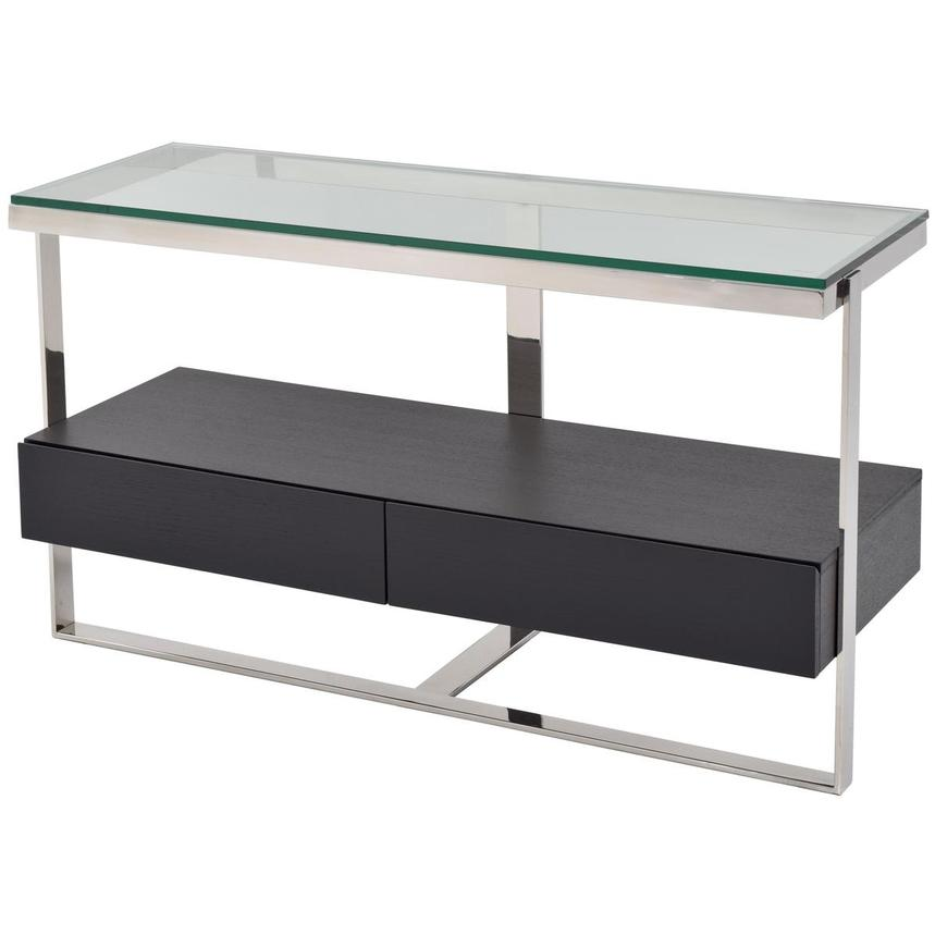 Calypso Black Console Table  alternate image, 2 of 5 images.