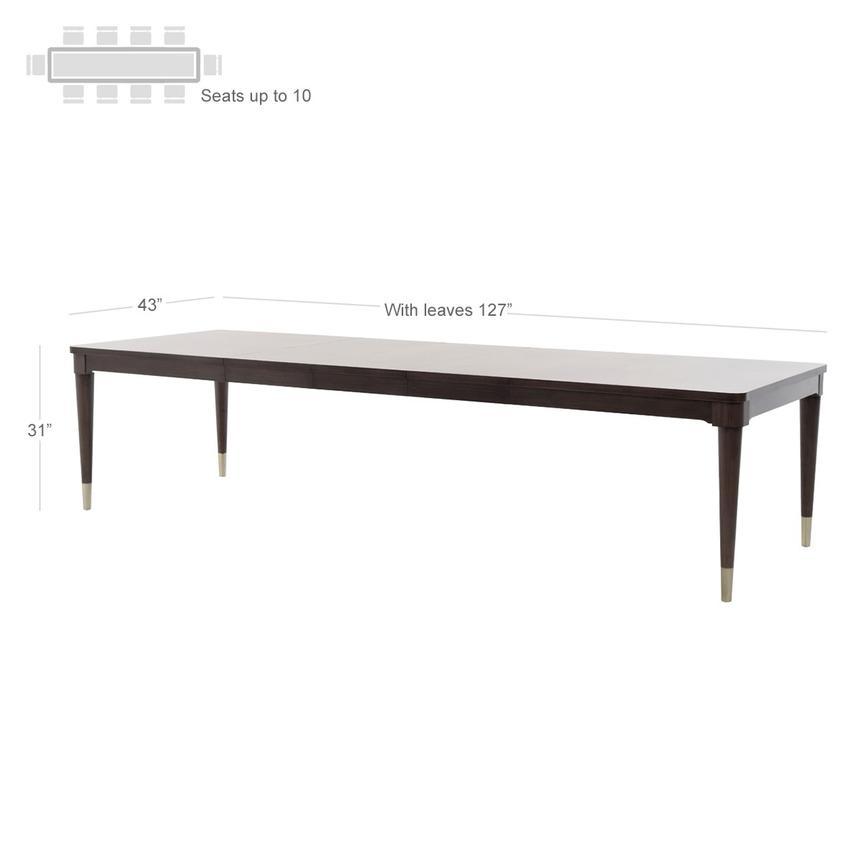 Rachael Ray S Soho Extendable Dining Table El Dorado