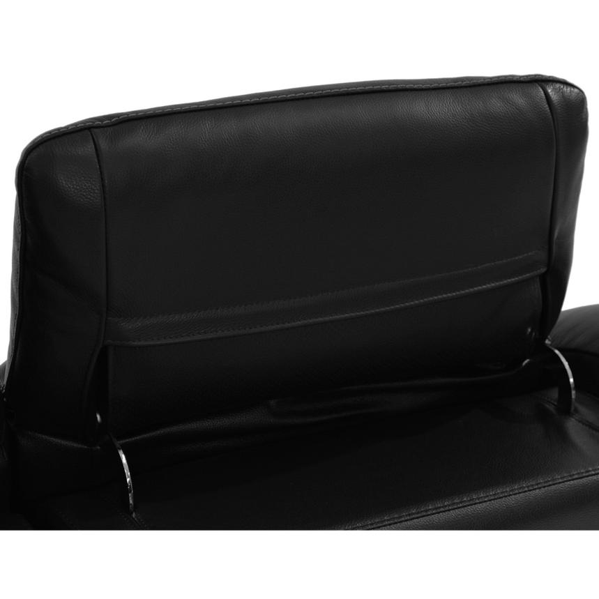 Davis Black Power Motion Leather Sofa w/Right & Left Recliners  alternate image, 7 of 9 images.